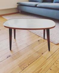 Rockabilly Tisch vorher DIY