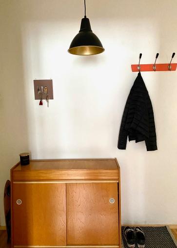 Flur mit DIYs / colorful Interior